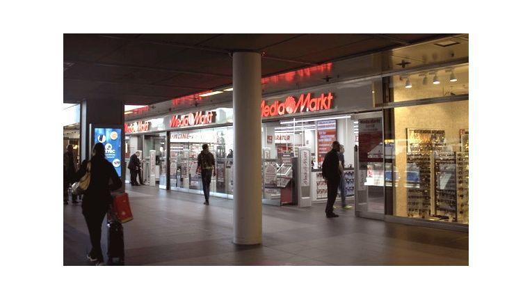 Seit Mai gibt im Berliner Hauptbahnhof eine kleinformatige Multchannel-Filiale von Media Markt
