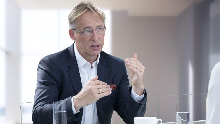 """Europa-Chef von Logicalis Rüdiger Rath: """"Mit Christian Werner haben wir einen Mann an der Spitze, der über exzellente Marktkenntnisse verfügt, internationale Expertise großer IT-Marktführer einbringt und uns in Deutschland weiter Richtung Top 10-Systemhäuser bringen wird."""""""