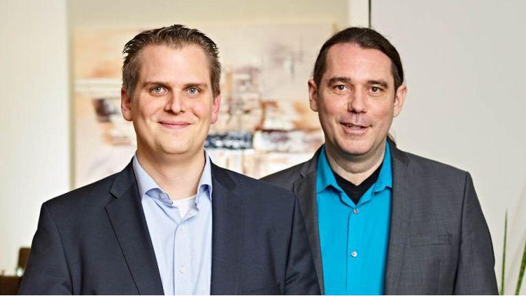Die Netgo-Firmengründer und Geschäftsführer (v.l.): Benedikt Kisner und Patrick Kruse