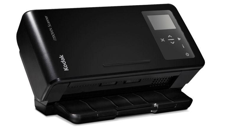 Der neue Wireless Scanner Kodak i1190WN kann direkt via WLAN ins Netzwerk scannen und ist für ein Volumen bis zu 5.000 Seiten pro Tag ausgelegt.