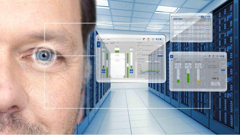 Alles im Blick mit Eatons Intelligent Power Manager: Über verbundene Geräte kann auf die Daten der Open-Source-Software zugegriffen werden.