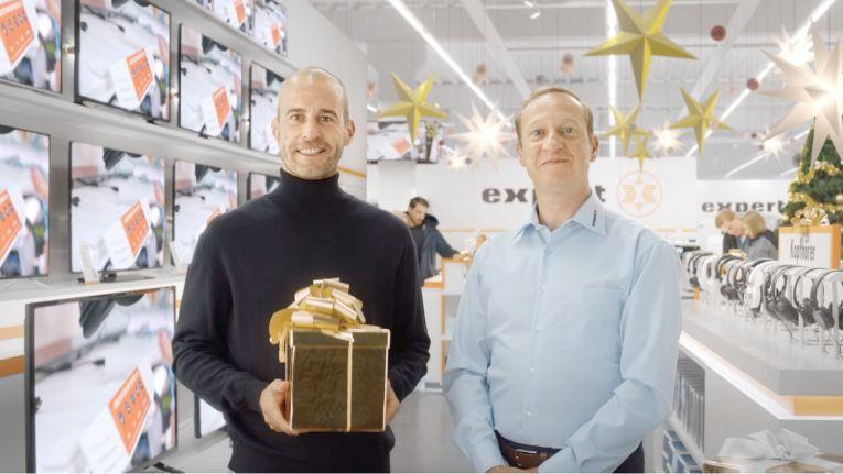 Gewinnen mit Mehmet Scholl - die Expert Weihnachtskampagne 2016