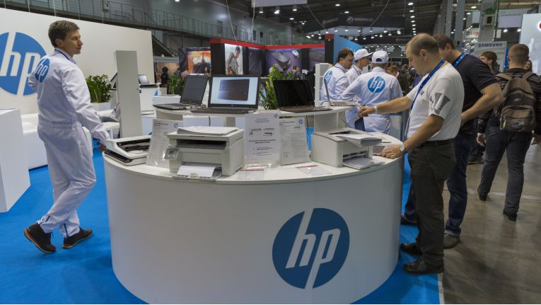 Hewlett-Packard konnte im letzten Quartal einen deutlichen Absatzsprung im PC-Markt verbuchen.