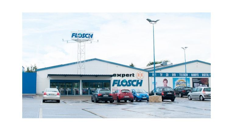 Wir künftig zu einem Markt von Media-Saturn: Der Standort von Expert Flösch in Müllheim