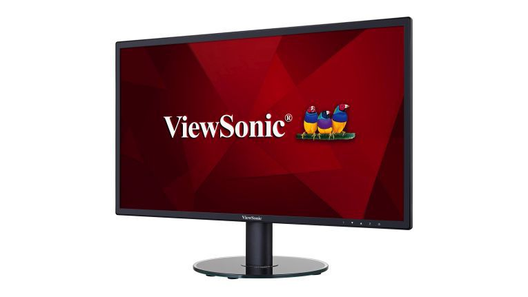 Der ViewSonic VA2719SH soll bei der täglichen Büroarbeit die Augen schonen.