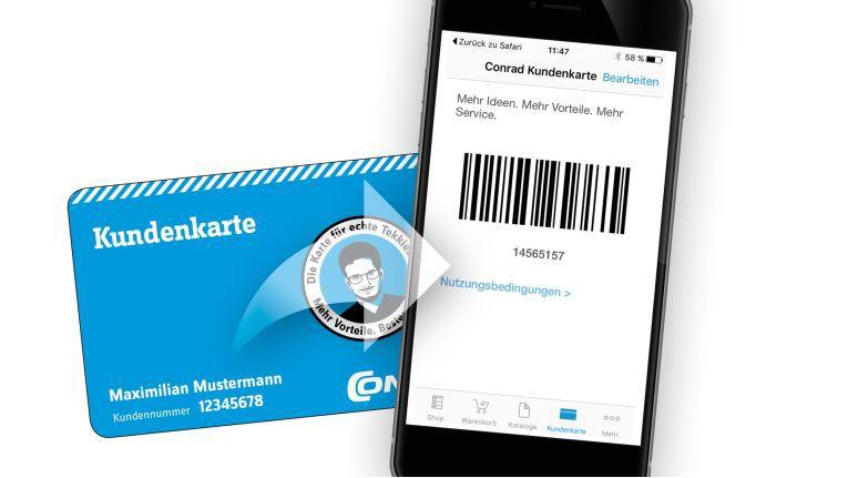 Aus Karte wird App: Zum 15-jährigen Jubiläum bringt Conrad sein Kundenbindungsprogramm auf's Smartphone