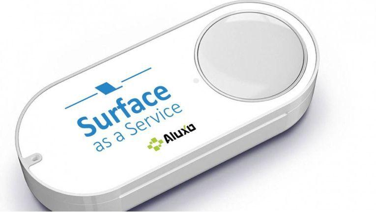 "Ab 1. April 2017 verfügbar: Der ""Surface as a Service"" Dash Button von Aluxo"