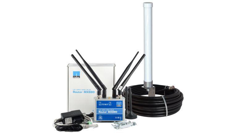 Für die Überwachung und Steuerung beispielsweise von Buderus Heinzungsanlagen kommen der MX880 Router von mdex zum Einsatz.
