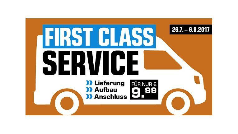 """Nach dem """"Liefer-Luxus"""" von Media Markt gibt es nun den """"First Class Service"""" von Saturn zum Kampfpreis"""