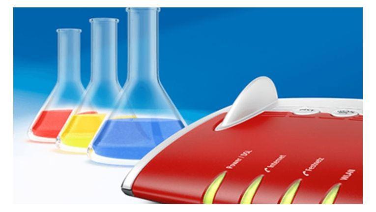 Fritzbox-Besitzer dürfen eine neue Labor-Firmware ausprobieren.