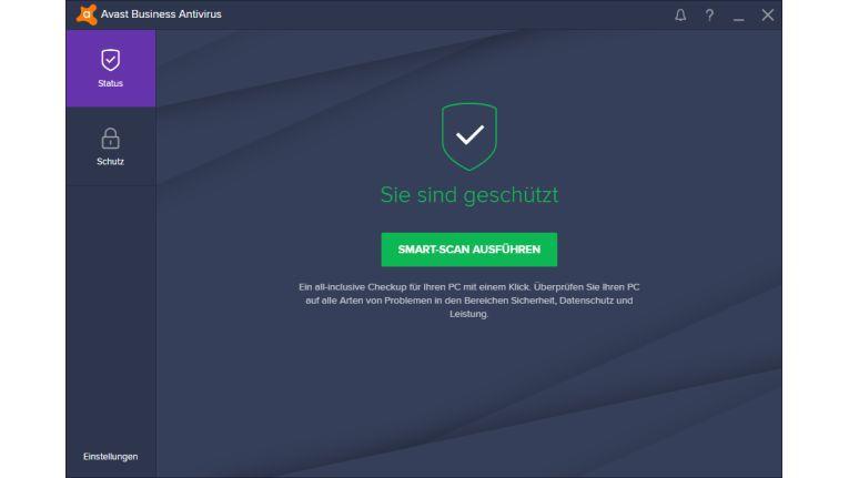 Avast Business Antivirus: Inklusive Datei-, E-Mail-, Web- und Verhaltensschutz.