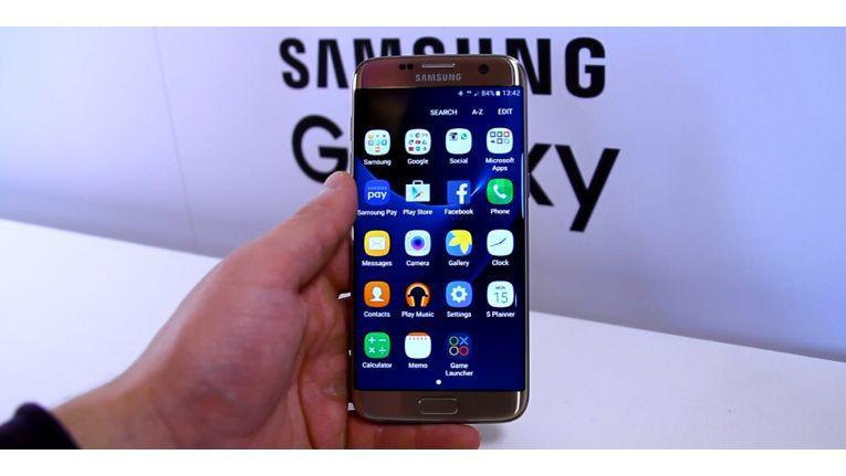 Auf dem MWC haben wir die neuen Samsung-Modelle Galaxy S7 & Galaxy S7 Edge ausprobiert.