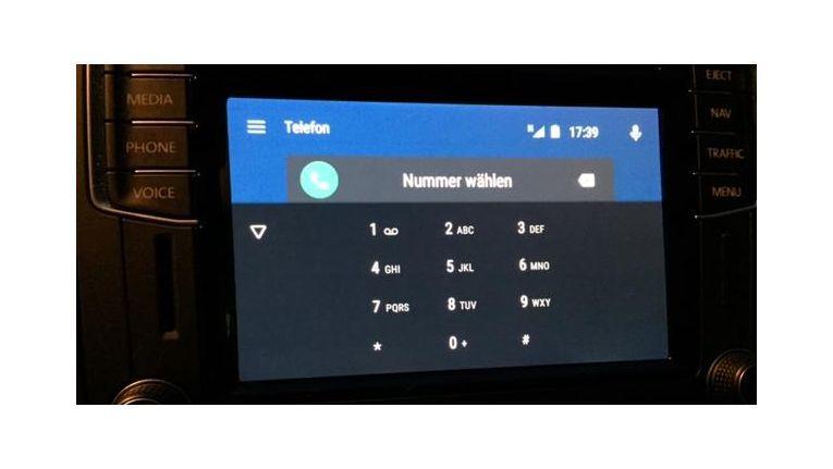 Telefonieren mit Android Auto