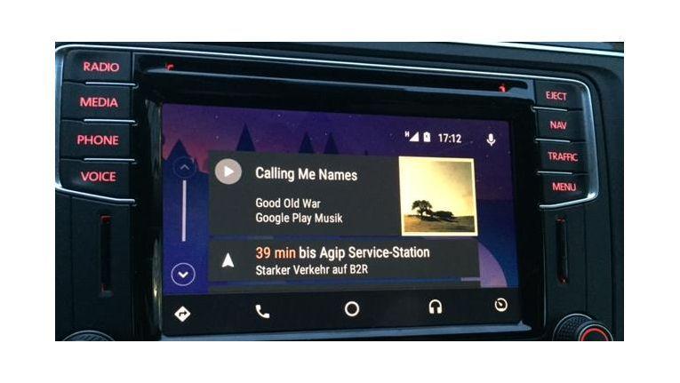 Unterhaltung mit Android Auto
