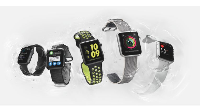 Die Apple Watch Series 2 ist wasserdicht.