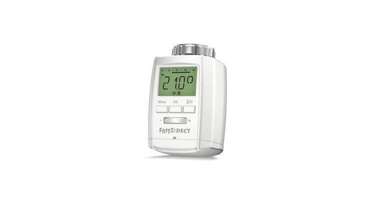 Den smarten Heizungsthermostat Fritz-DECT 300 von AVM können Sie über eine DECT-fähige Fritzbox wie die 7490 steuern.