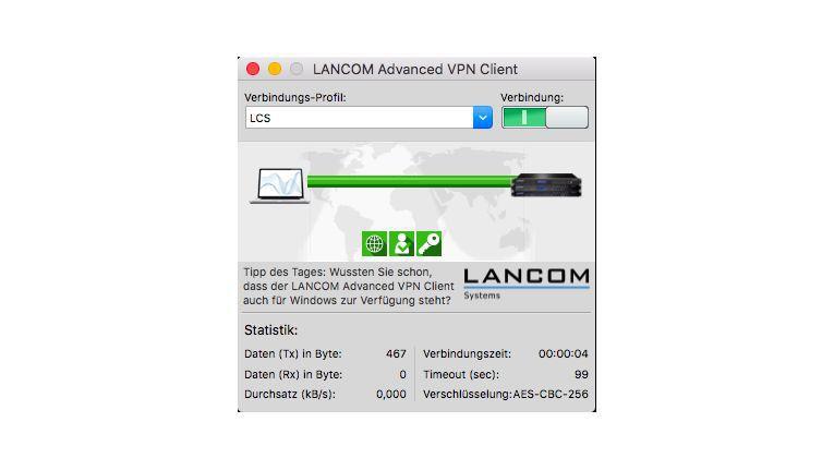 Der Lancom VPN-Client 3.0 steht offiziell nun auch für High Sierra zur Verfügung.
