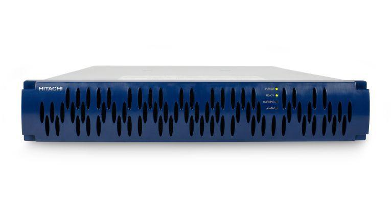 Soll ohne Wartung auskommen: das Einsteiger-Raid-System SMS 100 von Hitachi Data Systems