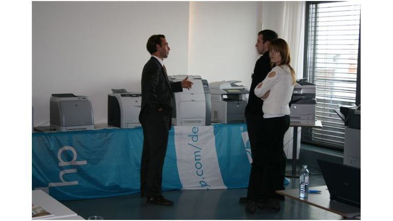 Effizientes Drucken und Services waren die wichtigsten Themen der Veranstaltungen.