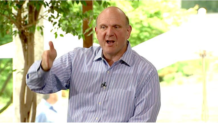 "Steve Ballmer verkörperte das ""alte Microsoft""."